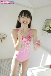 Hikaru Takahashi Pink Swimming Race Swimsuit School Swimsuit022
