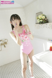 Hikaru Takahashi Pink Swimming Race Swimsuit School Swimsuit023
