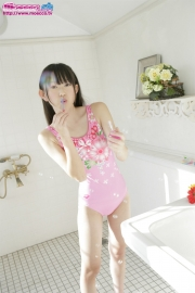 Hikaru Takahashi Pink Swimming Race Swimsuit School Swimsuit024