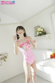 Hikaru Takahashi Pink Swimming Race Swimsuit School Swimsuit025