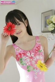 Hikaru Takahashi Pink Swimming Race Swimsuit School Swimsuit027