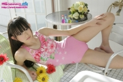 Hikaru Takahashi Pink Swimming Race Swimsuit School Swimsuit034