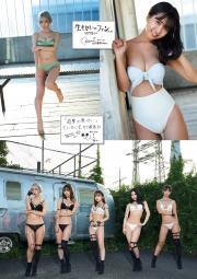 Too beautiful 5 body march swimsuit gravure 10Ajimi Morishima Anri Risa Aoki Yui Oku Kizun Amaha010