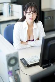 Riko Otsuki Swimsuit Gravure Office Lady Courtesan 2021006