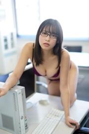 Riko Otsuki Swimsuit Gravure Office Lady Courtesan 2021013