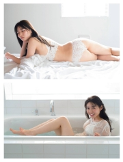 Mao Sakurada swimsuit gravure 23 years old, talked about thebest breast in the history of Miss Magazine 2021002