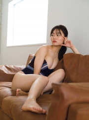 Mao Sakurada swimsuit gravure 23 years old, talked about thebest breast in the history of Miss Magazine 2021005