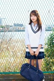 Hikari Kuroki Swimsuit Gravure Valentine 2021005