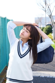 Hikari Kuroki Swimsuit Gravure Valentine 2021006