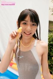 Asuka Izumi Swimming Race Swimsuit Images012