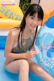 Asuka Izumi Swimming Race Swimsuit Images014