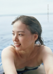 Saki Tatsuno Swimsuit Gravure Too beautifultheatrical company member talked about withamazing face deviation value 2021003