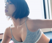 Akane Sakanoue the medical examinerMorningGlory actress has released a fresh lingerie shot4-004b