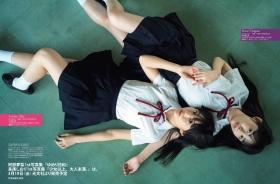 Yuri Abe Shiori Nagao Swimsuit Gravure Spagas two aces release theirlongawaitedphoto books simultaneously 20215-004