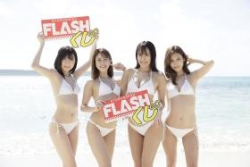 Anna Masuda Seiko Kirishima Kurumi Natori MihoTakatsuki White Swimsuit FLASH Photo BookRelease 202110-b01
