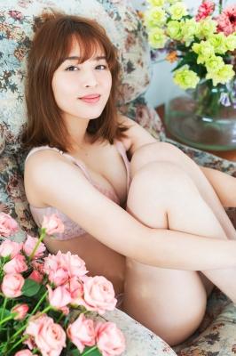 Misaki Kambe Underwear Image Model Beauty onTV Show 2021009