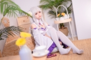 Cosplay Swimsuit Style Costume Emilia Re Zero to Start Another World003