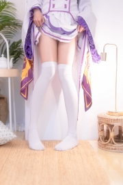 Cosplay Swimsuit Style Costume Emilia Re Zero to Start Another World036