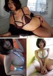 Wachiji Tsukasa swimsuit gravure swaying H cup sobig its bigger than your face002