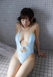 Wachiji Tsukasa swimsuit gravure swaying H cup sobig its bigger than your face007