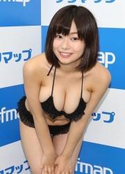 Wachiji Tsukasa swimsuit gravure swaying H cup sobig its bigger than your face028