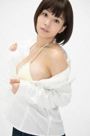 Wachiji Tsukasa swimsuit gravure swaying H cup sobig its bigger than your face031