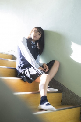 Goto Masao School uniform swimsuit gravure Beautiful girl in school006