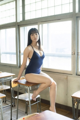 Goto Mashiro White Swimsuit Gravure SchoolSwimsuit Beautiful Girl in School Vol2 2021004