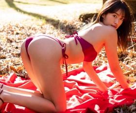 Yuna Kawaguchi Looking goodswimsuitI think it was biting into me 2021010