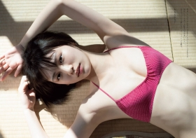 Shino Takeuchi, the best looking short cut in Japanfirst swimsuit gravure 2021003