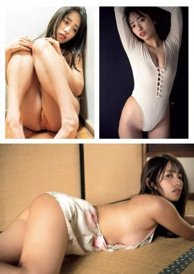Mizuki Takanashi Swimsuit Gravure Naked ApronCurrent college student who is talked about in nakedart 2021004