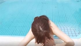 Reimi Osawa White Swimming Costume7011