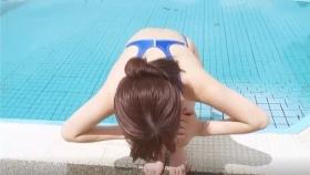 Reimi Osawa White Swimming Costume7014