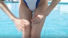 Reimi Osawa White Swimming Costume7031