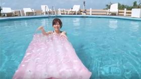Reimi Osawa White Swimming Costume7040