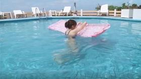 Reimi Osawa White Swimming Costume7041