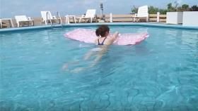 Reimi Osawa White Swimming Costume7042