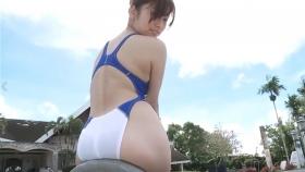 Reimi Osawa White Swimming Costume7097