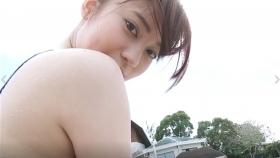 Reimi Osawa White Swimming Costume7100