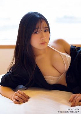 Nagisa Hayakawa First time in lingerie 2021005