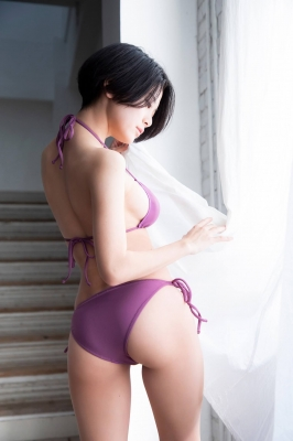 RaMu swimsuit gravure My favorite reptile and gravure together 2021008