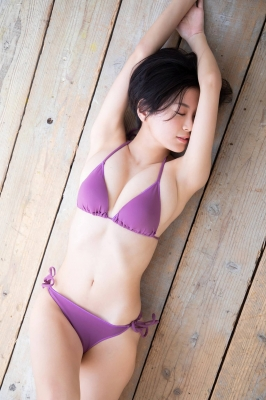RaMu swimsuit gravure My favorite reptile and gravure together 2021010