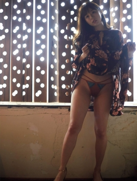 Natsuki Kawamura Swimsuit Gravure Uncensored GCup Actress Preparedness Shot 2021002