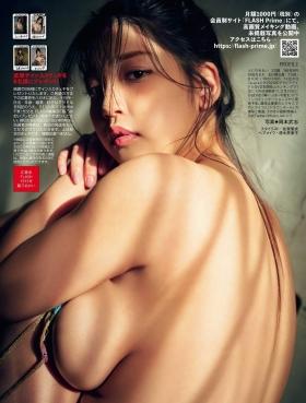 Aoi Fujino swimsuit gravure Hokuriku born 100cm Icup seems to burst 2021005