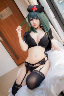 Cosplay Swimsuit Style Costume Dark Nurse009