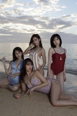 Anna Masuda Seiko Kirishima Kurumi Natori MihoTakatsuki Swimsuit Gravure Miss FLASH 2021The strongest ever 2021002
