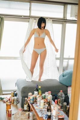 Miyu Nakagawa swimsuit gravure Beautiful BODYthat looks good on gravure 2021015