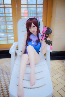 Cosplay Swimsuit Style Costume Overwatch DVaYuki Astra029