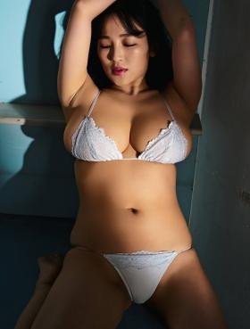 Jun Amagi Swimsuit Gravure Powerful Icup003