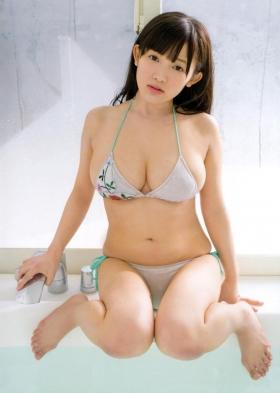 Jun Amagi Swimsuit Gravure Powerful Icup016